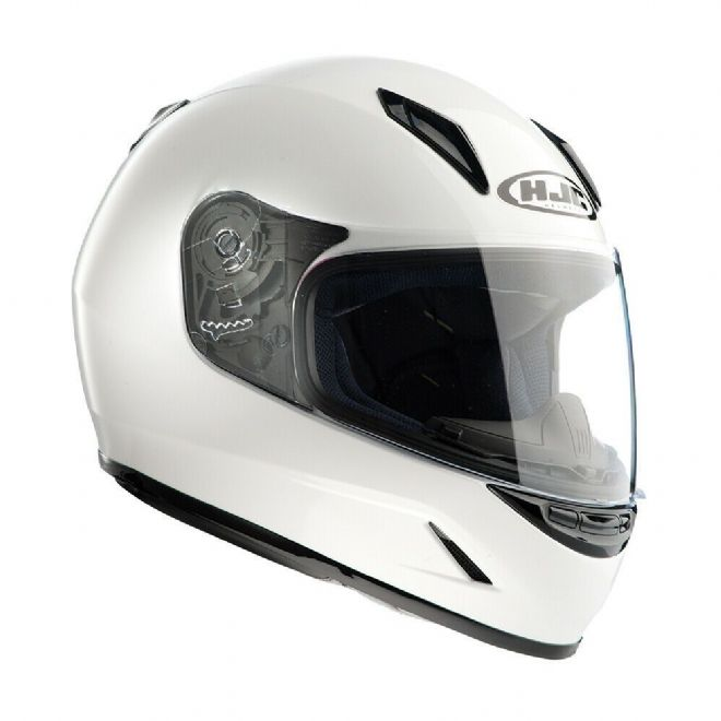 HJC CLY Full Face Women's Child Youth Motorcycle Motorbike Helmet White